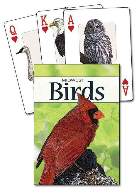 Birds of the Midwest Playing Cards By Tekiela, Stan